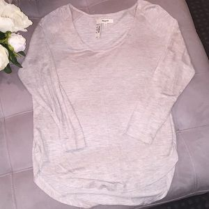 Madewell Anthem Scoop tee size small